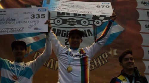 BMX: Chalo, subcampeón panamericano