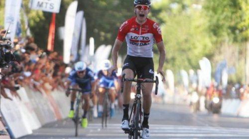 Un belga sorprendió en la penúltima etapa y Najar se mantiene arriba