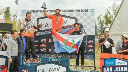 CANAV: El Puchi Ontiveros hizo podio en Pocito