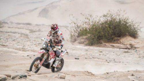 Puchi Ontiveros: «Fue mi mejor Dakar»