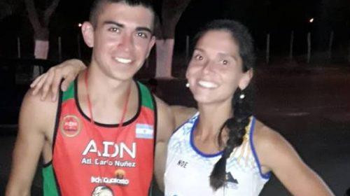 Pizarro y Tejada vencieron en los 8km de Albardón