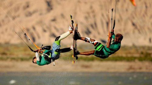 Este fin de semana es el evento de kitesurf más grande de Latinoamérica