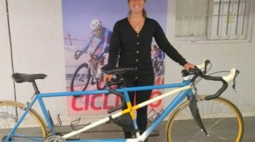 La paraciclista María José Quiroga es llamada a la selección.