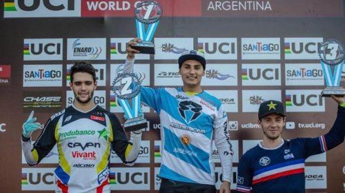 Chalo Molina trepa al octavo puesto del ranking mundial