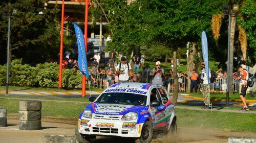 Seba Landa tuvo que abandonar en la última del Rally Argentino