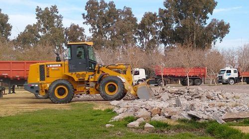 Peñarol: a falta de fútbol, obras