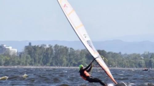 Windsurf: Isidro Sabatino aguarda por otro Campeonato Argentino
