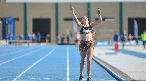 Priscila Camargo, promesa en atletismo