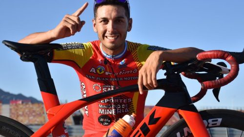 Nico Tivani, dueño del Homenaje al Ciclista