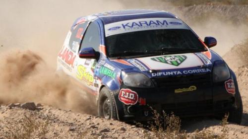 Sebastián Landa, podio en el Rally Master de San Luis