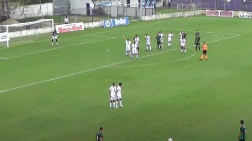 VIDEO: mirá el golazo espectacular de San Martín en el empate frente a Dálmine