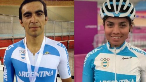 Rubén Ramos y Maribel Aguirre quedaron en el equipo argentino que competirá en el Panamericano de Pista