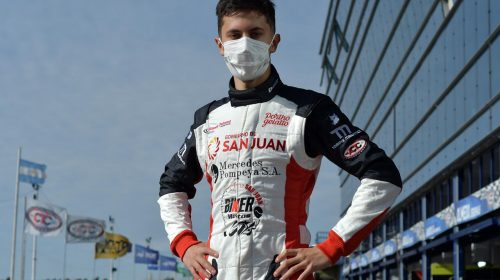 Tobías Martínez mejoró en el segundo entrenamiento y quedó en el top ten