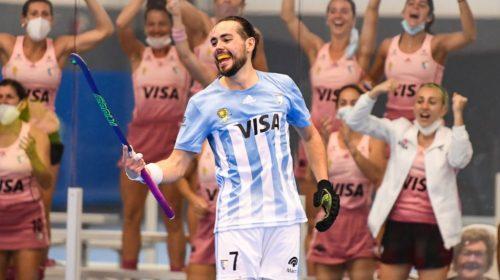 Un triplete de Agustín Ceballos le dio el título Panamericano y el pase al Mundial a Argentina