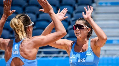 Fernanda Pereyra y Ana Gallay no pudieron mantener el ritmo del primer set y acumularon la segunda derrota