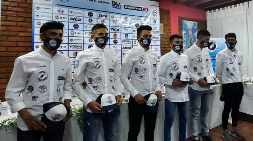 Gremios por el deporte presentó a su nuevo equipo de ciclismo