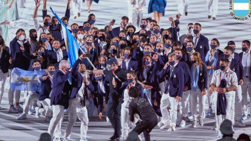 «Descontrol» argentino en la ceremonia inaugural de los JJOO