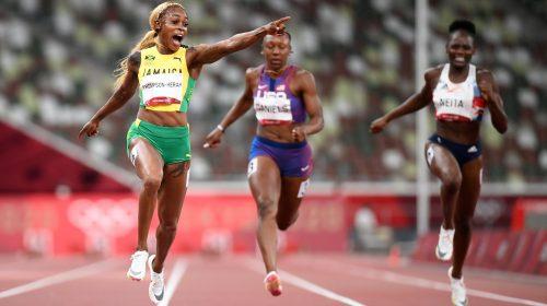 Jamaica copó la final femenina en 100 metros de atletismo y Elaine Thomson-Herah sigue siendo la reina