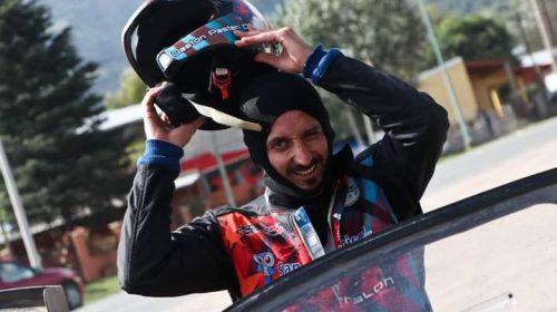 Gastón Pastén fue protagonista en el Rally Argentino