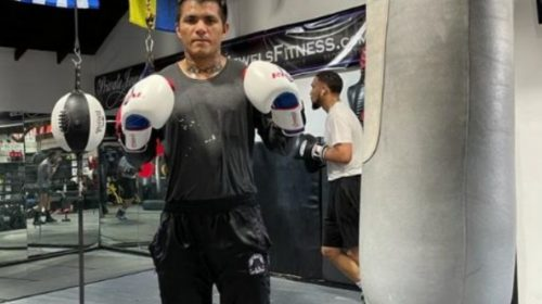 De Chimbas a Massachusetts: Fernández, el sanjuanino que sube al ring en la tierra de Rocky Marciano