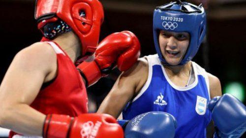Dayana Sánchez cayó en una pelea fundacional para el boxeo olímpico argentino