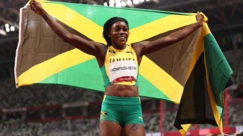 Elaine Thompson se colgó la de oro en los 200 metros