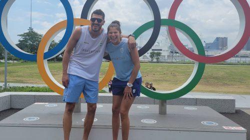 La felicidad de Fernanda Pereyra por sus primeros JJOO, con el plus de haberlos compartido con su hermano