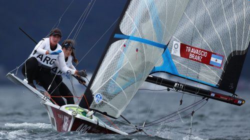 A dos puntos de una medalla: Travascio-Branz ganaron la última regata pero no alcanzaron el podio