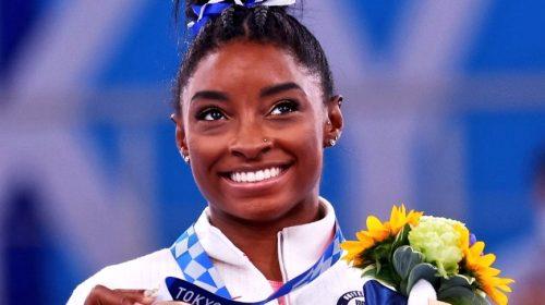 Regreso con medalla de bronce para Simone Biles