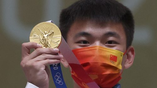 La delegación china sigue al frente del medallero olímpico de Tokio 2020