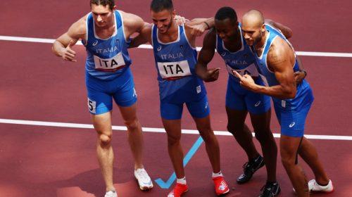 Posta 4×100: Italia volvió a sorprender en los varones y Jamaica extendió su dominio en la rama femenina