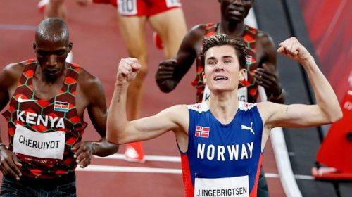 El noruego Ingebrigsten ganó el oro en los 1.500 metros con nuevo récord olímpico