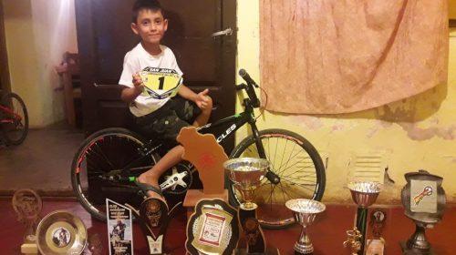 Ezequiel Galat ratificó en Mendoza su prometedor futuro en el BMX
