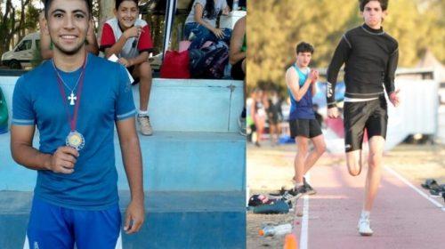 Maycol Coria y Joaquín Ocampo se subieron a lo más alto del podio en Mendoza