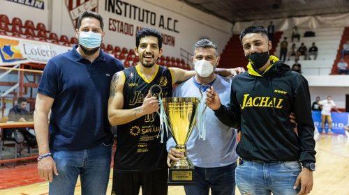Jáchal BC campeón, un día inolvidable para Ismael Sarruff y Fabricio Cabañas