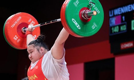 La delegación china se mantiene en lo más alto del medallero olímpico