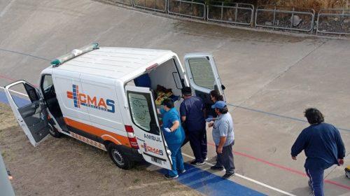 «El velódromo donde se accidentó Naranjo no estaba en condiciones y la ambulancia actuó tarde», dijo un testigo