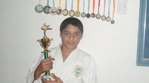 Lautaro Oro va al Argentino de karate con la mira puesta en la selección