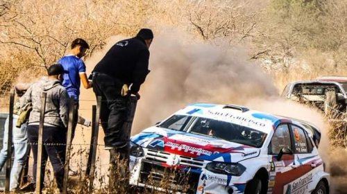 Gran arranque de los sanjuaninos en la sexta fecha del Rally Argentino