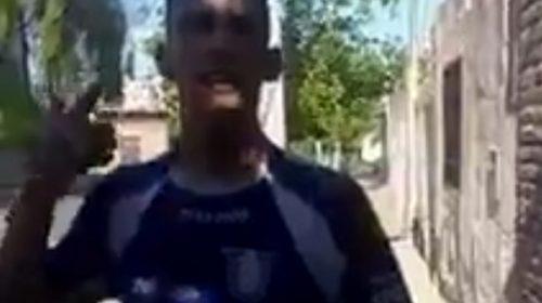 L-Gante se puso la camiseta de Unión y expresó su sentimiento por el Azul de Villa Krause