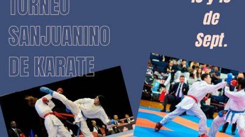 Vuelve el Torneo Sanjuanino de Karate en versión presencial