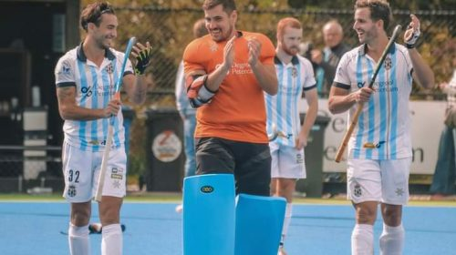 Agustín Bugallo empató en su debut con el Gantoise