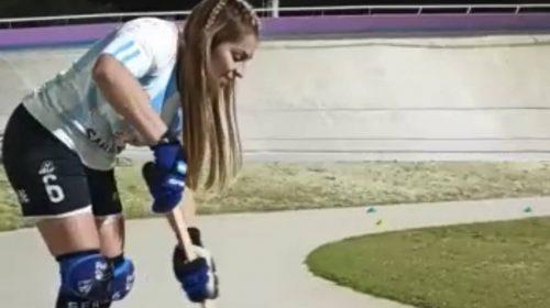Una jugadora sanjuanina puso los cimientos del hockey sobre patines en San Luis