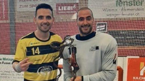Ariel Romero y Andrés Garramuño salieron campeones en Austria a pocos días de haber llegado