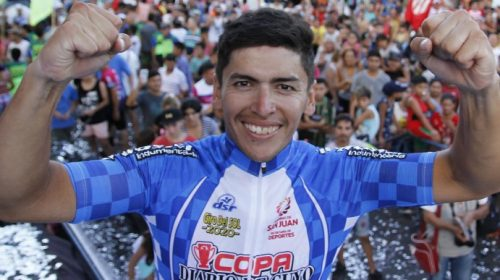 La familia de Naranjo viajó a despedirse del ciclista, que sigue gravísimo
