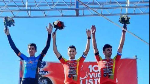 Nicolás Tivani pegó primero en la Vuelta de Cutral Co