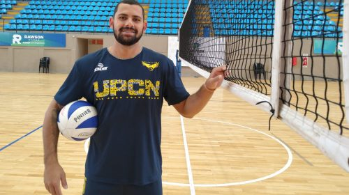 El brasileño Jailton Leal Da Silva, flamante refuerzo de UPCN