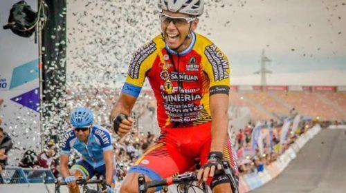 El deseo de Nico Tivani: «Quiero hacer un buen papel en la Vuelta a San Juan»